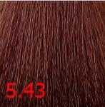 Купить Kaaral, Крем-краска для волос Baco Permament Haircolor, 100 мл (106 оттенков) 5.43 светлый медно-золотистый каштан