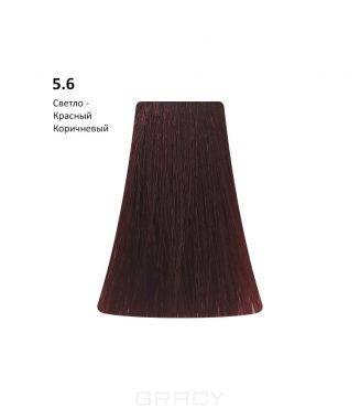 BB One, Перманентная крем-краска Picasso (153 оттенка) 5.6Light Red Brown/Светло-Красный Коричневый  - Купить