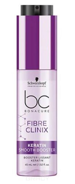 Бустер с кератином для гладкости волос Bonacure Fibre Clinix Booster Keratin Smooth Perfect, 50 мл