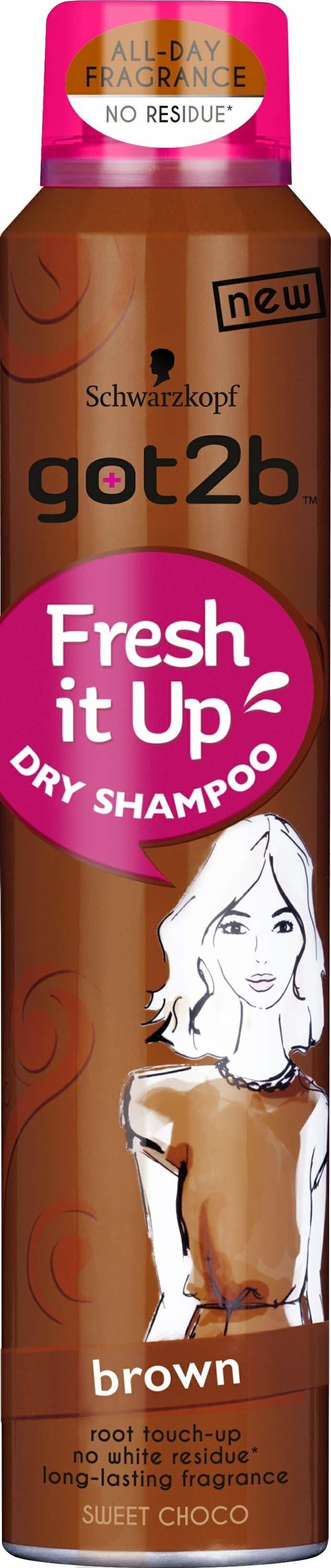 Schwarzkopf Professional, Парфюмированный сухой шампунь Для брюнеток Горячий шоколад Fresh it Up, 200 мл got2b fresh it up парфюмированный сухой шампунь объем тропический бриз