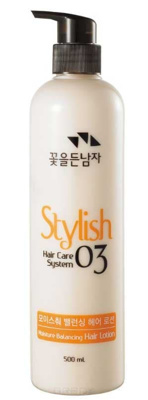 Питательный лосьон для укладки волос Хэир Кеа Систем Hair Care System Stylish 03 Moisture Balancing Hair Lotion, 500 мл 500 2000pcs pack rubber rope ponytail holder elastic hair bands ties braids plaits hair clip headband hair accessories