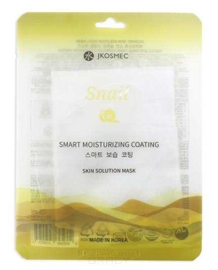 Купить Jkosmec, Маска для лица с муцином улитки Skin Solution Snail Mask, 25 мл