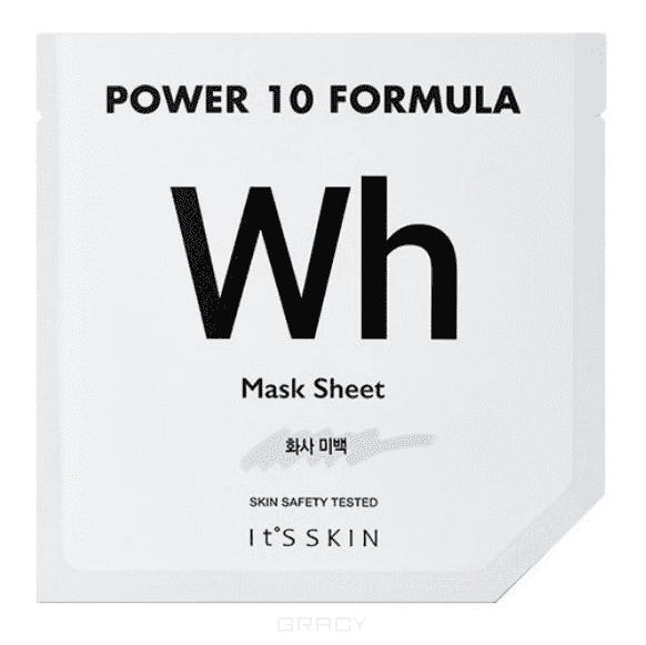 Купить It's Skin, Power 10 Formula Mask Sheet WH Тканевая маска выравнивающая тон, 25 мл