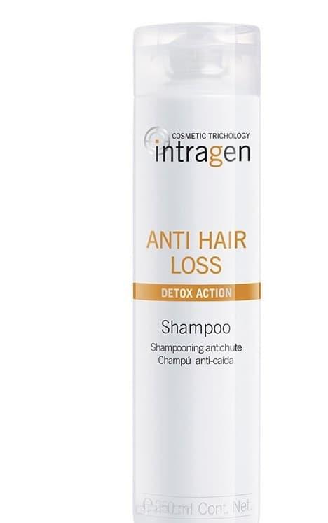 Шампунь против выпадения волос Intragen Anti-hair loss Shampoo, 250 мл шампунь для профилактики выпадения волос anti hair loss shampoo 250 мл kaaral к05