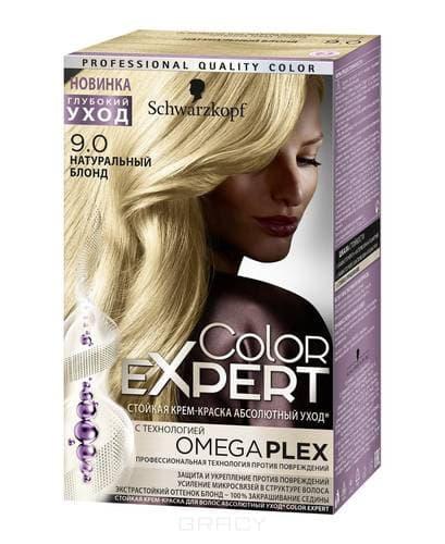 Schwarzkopf Professional, Краска для волос Color Expert (22 оттенков) 9.0 Натуральный блонд schwarzkopf professional краска для волос color expert 22 оттенков 3 0 черно каштановый 1 шт