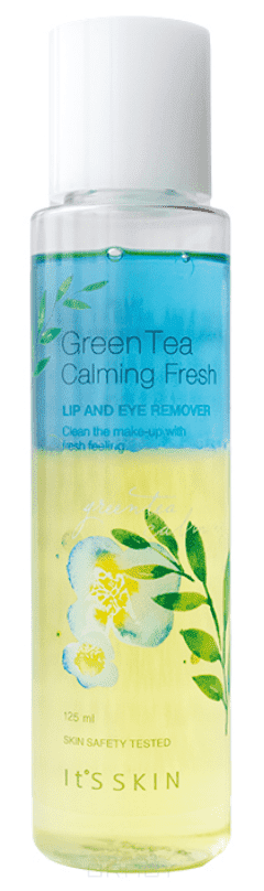 It's Skin, Green Tea Calming LIp&Eye Cleansing Remover Средство для снятия макияжа с глаз и губ Ит Скин, 125 мл it s skin one touch lip brush кисть универсальная для губ ит скин