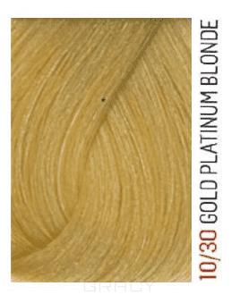 Купить Lakme, Перманентная крем-краска для волос без аммиака Chroma, 60 мл (32 тона) 10/30 Очень светлый блондин золотистый