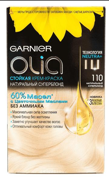 Garnier, Краска для волос Olia, 160 мл (24 оттенка) 110 УльтраблондОкрашивание<br><br>
