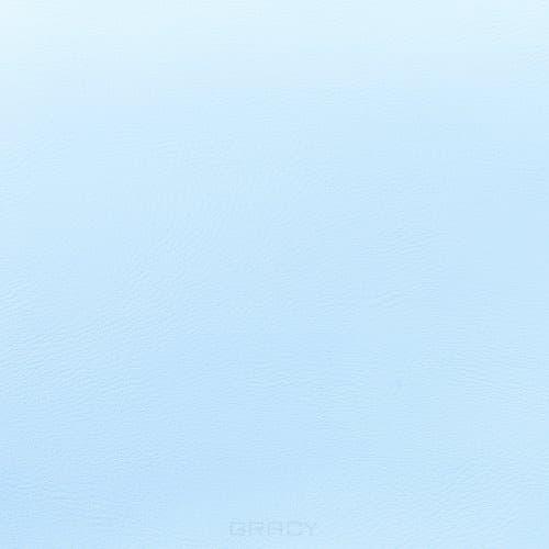 Купить Имидж Мастер, Пуф для салона красоты со спинкой Диалог Модуль №1 (48 цветов) Голубой 5154
