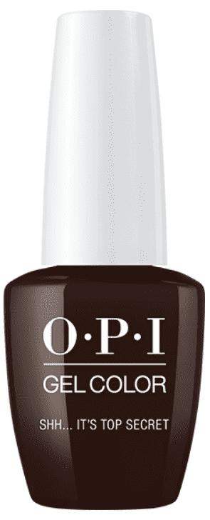 OPI, Гель-лак GelColor, 15 мл (95 цветов) Shh...Its Top Secret! блуза top secret top secret mp002xw19c2g
