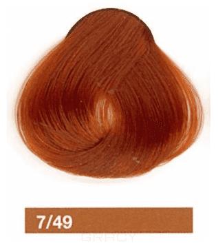 Lakme, Перманентная крем-краска Collage, 60 мл (99 оттенков) 7/49 Средний блондин медно-красный недорого