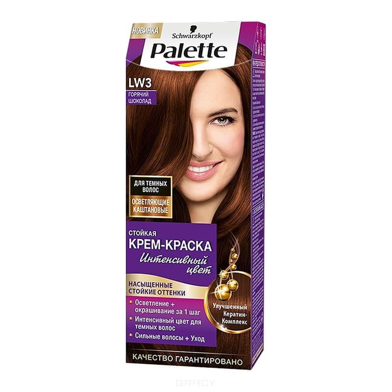 Schwarzkopf Professional, Краска для волос Palette Icc, 50 мл (40 оттенков) LW3 Горячий шоколад schwarzkopf professional краска для волос color mask 60 мл 16 оттенков 300 черный шоколад 60 мл