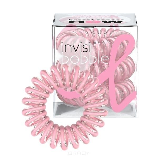 Invisibobble, Резинка для волос прозрачный розовый Pink Power (3 шт.)Зажимы, шпильки, резинки<br><br>