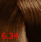 Купить Revlon, Перманентный краситель без аммиака Revlonissimo Color Sublime, 75 мл (51 оттенок) 6.34 темный блондин золотисто-медный