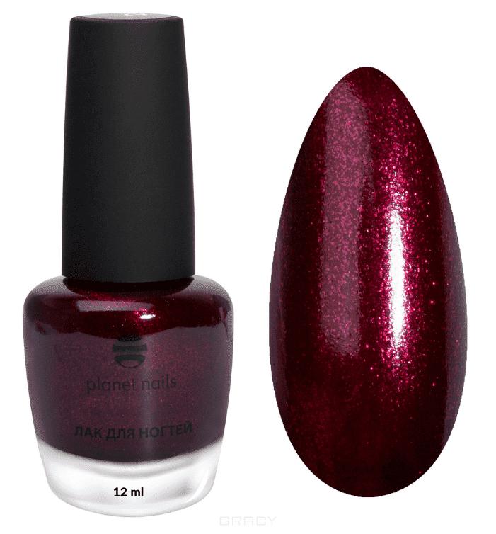 купить Planet Nails, Лак для ногтей красный с шиммером, 12 мл (6 оттенков) Лак для ногтей красный с шиммером, 12 мл (6 оттенков) дешево