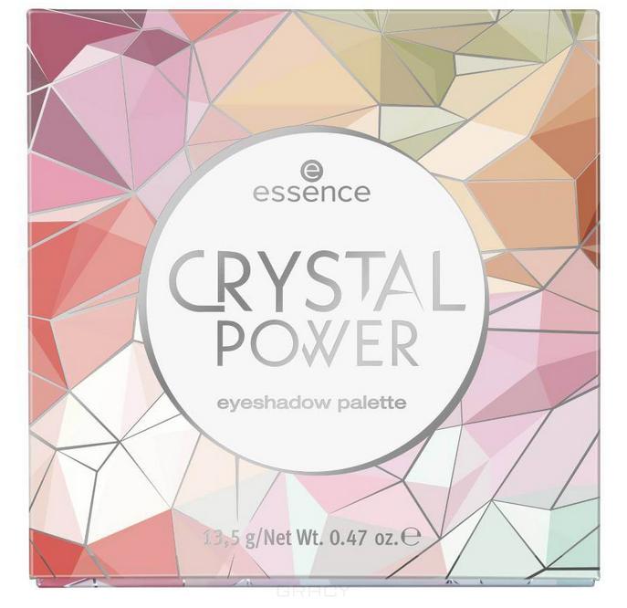 Купить Essence, Палетка теней Crystal Power Eyeshadow Palette