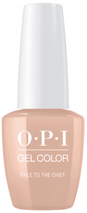 OPI, Гель-лак GelColor, 15 мл (95 цветов) Pale To The Chief opi лак для ногтей classic nlw57 pale to the chief 15 мл