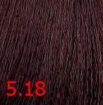 Купить Kaaral, Крем-краска для волос Baco Permament Haircolor, 100 мл (106 оттенков) 5.18 светлый каштан пепельно-коричневый