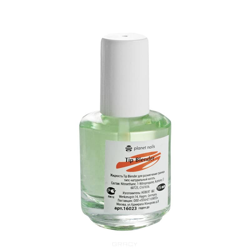 Planet Nails, Растворитель шва типс-ноготь Tip Blender, 15 млЖидкости для наращивания ногтей<br><br>