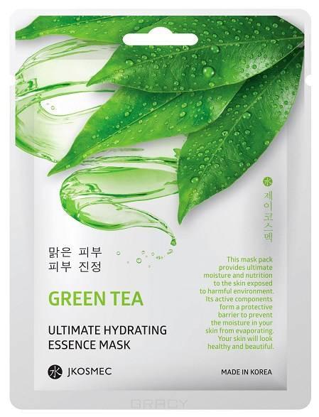 Купить Jkosmec, Ежедневная увлажняющая маска с экстрактом зелёного чая Green Tea Ultimate Hydrating Essence Mask, 25 мл