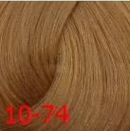 Купить Estel, Краска для волос Princess Essex Color Cream, 60 мл (135 оттенков) 10/74 Светлый блондин коричнево-медный