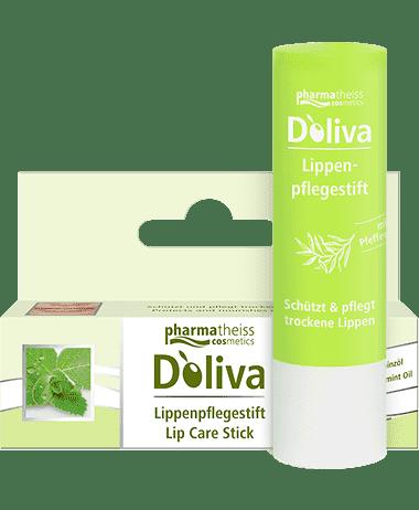Бальзам гигиенический для губ, 4.8 грОписание:&#13;<br> &#13;<br> Бальзам для губ D'oliva создан на основе тосканского оливкового масла экстра-класса с добавлением витамина Е и освежающего масла мяты. Он успокаивает, смягчает и надежно защищает губы, питая и восстанавливая кожу. Бальзам Doliva справляется даже с сильно обветренными губами, увлажняет, защищает и успокаивает кожу, снимая раздражение.&#13;<br> &#13;<br> Способ применения:&#13;<br> &#13;<br> Наносить на губы тонким слоем по мере надобности.&#13;<br> &#13;<br> Состав:&#13;<br> &#13;<br> Ethylhexyl Stearate, Ricinus Communis Seed Oil, Synthetic Beeswax, Hydrogenated Palm Oil, Candelilla Cera, Cera Alba, Olea Europaea Oil, Tocopheryl Acetate, Ascorbyl Palmitate, Linalool, Lecithin, Limonene, Mentha Piperita Oil, Tocopherol.<br>