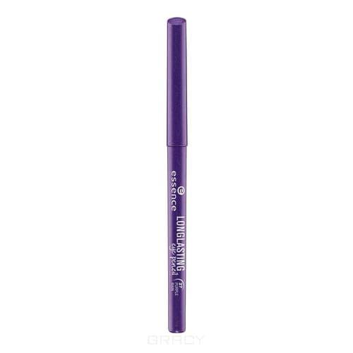 Купить Essence, Карандаш для глаз Long Lasting, 0.28 гр (15 цветов) №27, фиолетовый металлик