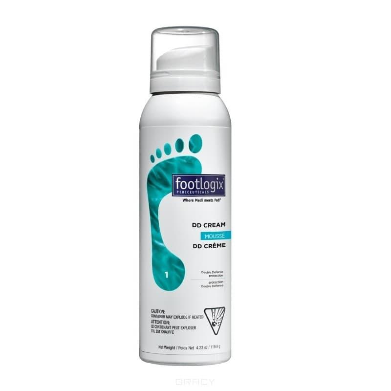 Footlogix, Мусс-крем легкий двойная защита Double defense (DD) cream, 119,9 гGreenism - эко-серия для ухода<br><br>