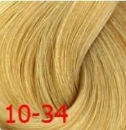 Estel, Краска для волос Princess Essex Color Cream, 60 мл (135 оттенков) 10/34 Светлый блондин золотисто-медный /шампань estel estel princess essex краска для волос 10 34 светлый блондин золотисто медный шампань 60 мл