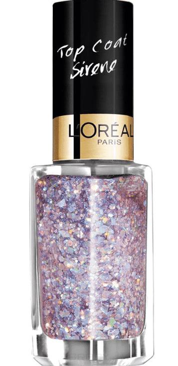 LOreal, Верхнее покрытие дл ногтей Top Coat, 5 мл (14 оттенков) 938 Поцелуй в водеЦветные лаки дл ногтей<br><br>