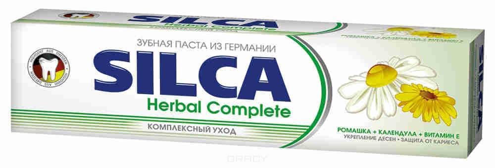 Silca, Зубная паста Herbal Complete, 100 мл зубная паста silca natural extrakte 100 мл