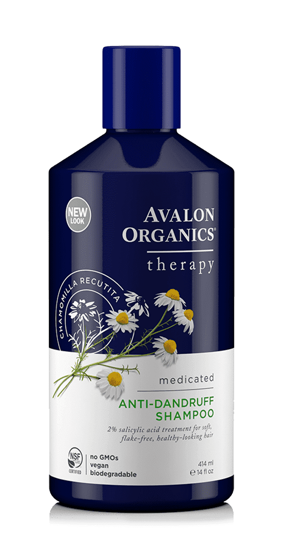 Avalon Organics, Лечебный шампунь против перхоти AntiDandruff Shampoo, 400 мл avalon organics anti dandruff shampoo объем 400 мл