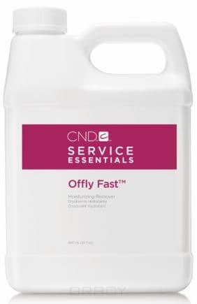 CND (Creative Nail Design), Питательная жидкость для удаления искусственных покрытий Offly Fast, 946 мл cnd creative play вase coat 13 6 мл page 9