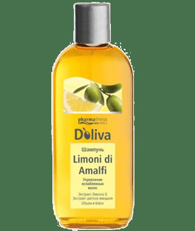 Doliva, Шампунь Limoni di Amalfi для укрепления ослабленных волос, 200 мл doliva ополаскиватель для укрепления ослабленных волос limoni di amalfi 200 мл