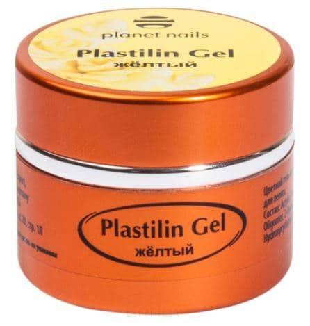 Купить Planet Nails, Гель-пластилин Plastilin Gel Планет Нейлс (8 оттенков), 5 гр желтый