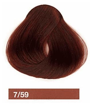 Купить Lakme, Перманентная крем-краска Collage, 60 мл (99 оттенков) 7/59 Средний блондин махагоново-красный