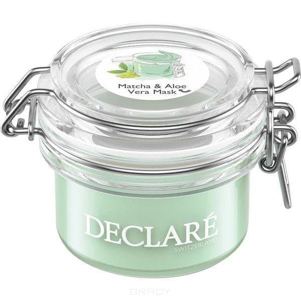 Declare, Маска-антистресс с зеленым чаем матча и алоэ вера Matcha & Aloe Vera Mask, 50 мл