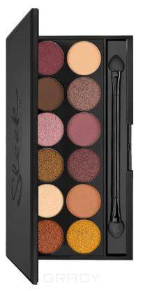 Sleek MakeUp, Тени для век в палетке Eyeshadow Palette I-Divine, 12 тонов (13 видов) тон 3am 1196 цена