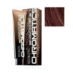 Купить Redken, Chromatics Краска для волос без аммиака Редкен Хроматикс (палитра 67 цветов), 60 мл 4.56/4Br красный/коричневый БК