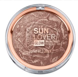 Catrice, Пудра компактная бронзирующая Sun Lover Glow Bronzing (010 с эффектом загара)