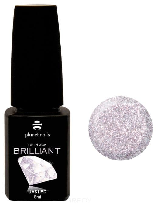 Купить Planet Nails, Гель-лак Brilliant Планет Нейлс, 8 мл (18 оттенков) 717