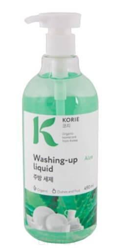 Korie, Washing-Up Liquid Aloe Средство для мытья посуды Алоэ, 490 мл фото