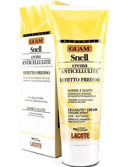 Купить Guam, Крем антицеллюлитный с охлаждающим эффектом для массажа Snell, 250 мл