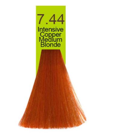 Купить Macadamia Natural Oil, Краска для волос Oil Cream Color, 100 мл (97 тонов) 7.44 Яркий медный средний блондин