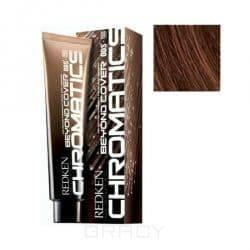 Купить Redken, Chromatics Краска для волос без аммиака Редкен Хроматикс (палитра 67 цветов), 60 мл 5.54/5Bc коричневый/медный БК
