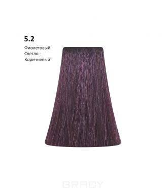 BB One, Перманентная крем-краска Picasso (153 оттенка) 5.2Light Violet Brown/Фиолетовый Светло-Коричневый  - Купить