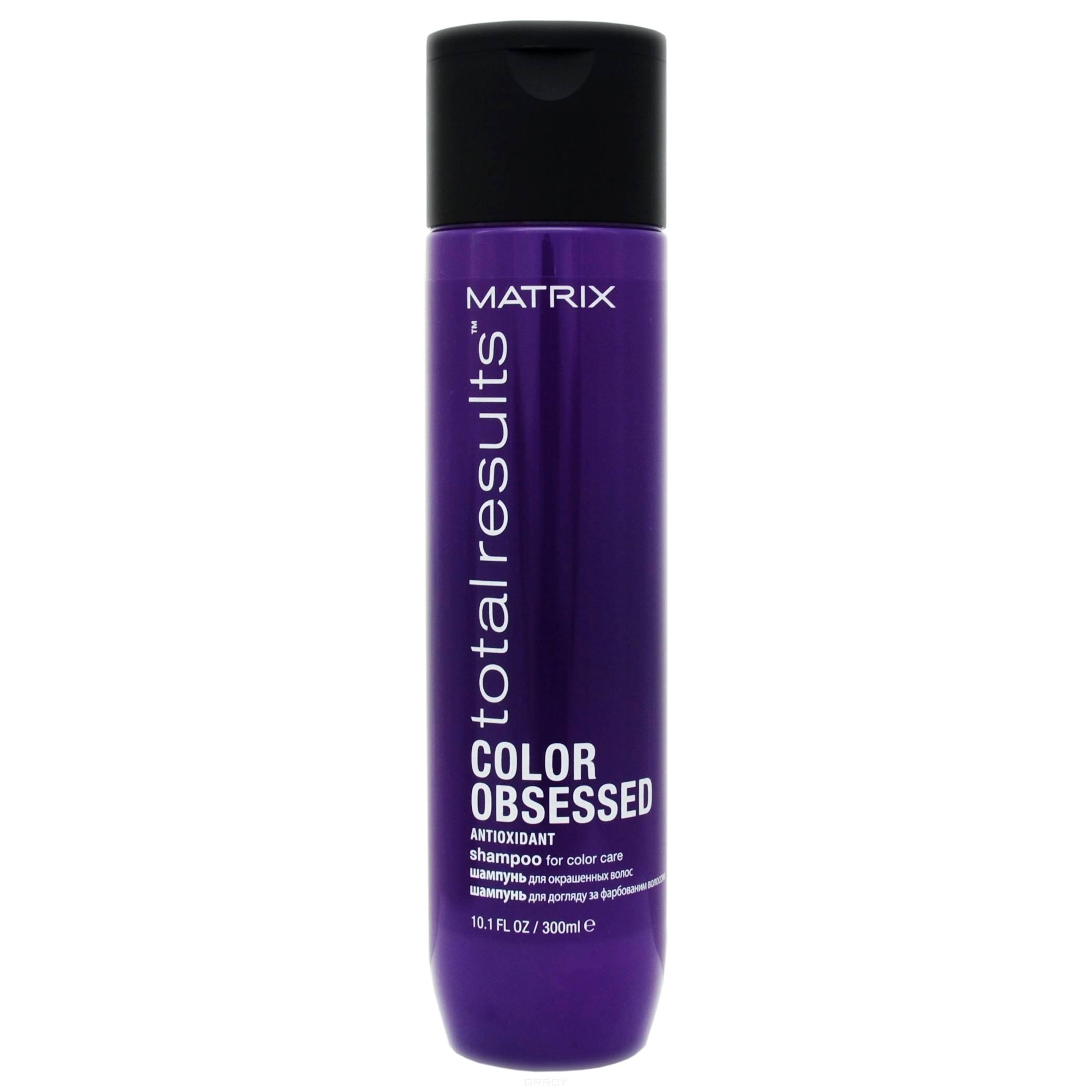Matrix, Набор дуопак шампунь + масло для окрашенных волос Color Obsessed Shampoo + Oil Wonders (- 50% на масло), 300 мл +125 мл шампунь дав для окрашенных волос отзывы
