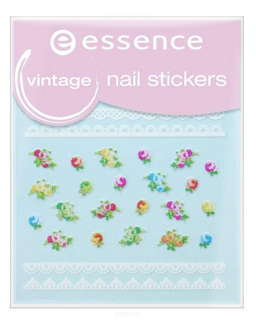 Essence, Наклейки для ногтей №17 Vintage