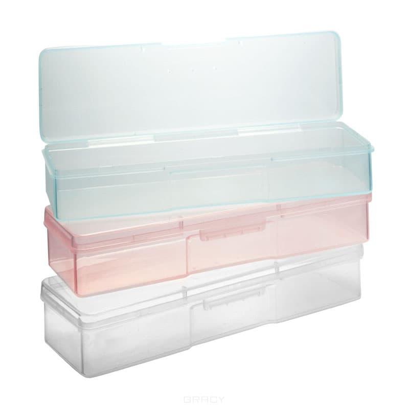 Planet Nails, Контейнер пластиковый, 1 шт, ГолубойФутляры, пеналы и емкости<br><br>