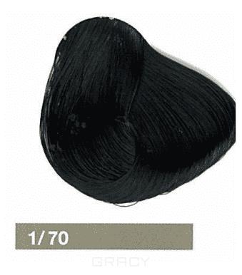 Lakme, Перманентная крем-краска Collage, 60 мл (99 оттенков) 1/70 Иссине-черный цена